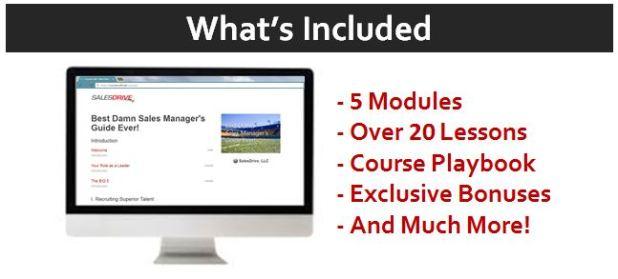 sales management course